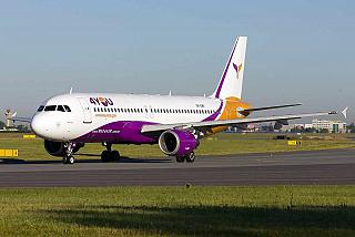 Airbus A320 UR-CMK авиакомпании Yanair