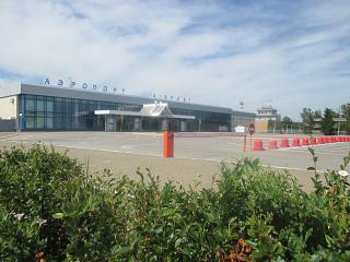 The airport of Magnitogorsk