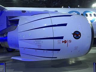 Двигатель самолета МС-21 (Як-242)