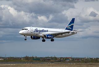 SSJ-100 RA-89012 Yakutia Airlines