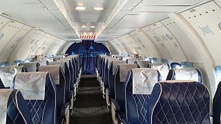Салон самолета Ан-26Б-100 RA-26133 Костромского авиапредприятия