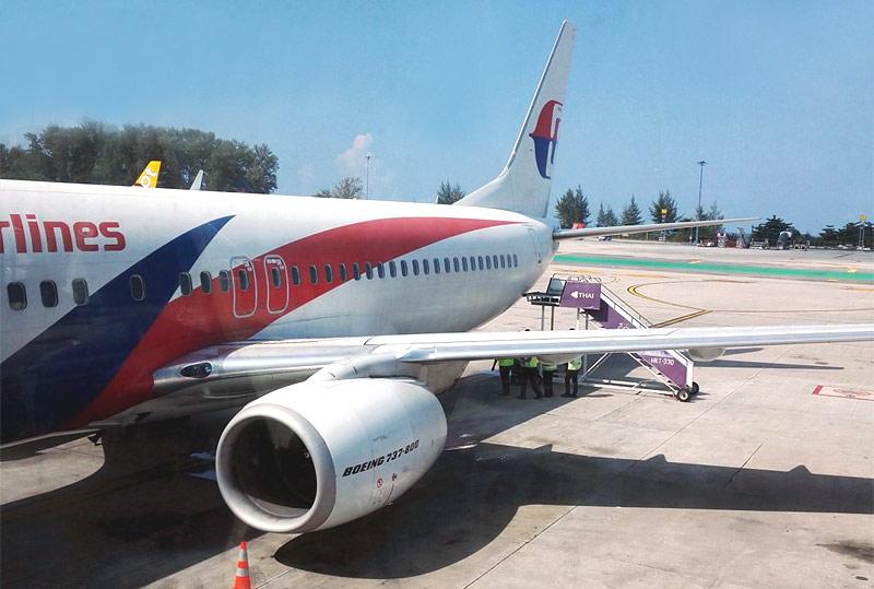 За новыми впечатлениями. Перелет Пхукет-Куала Лумпур. Малазийские авиалинии.