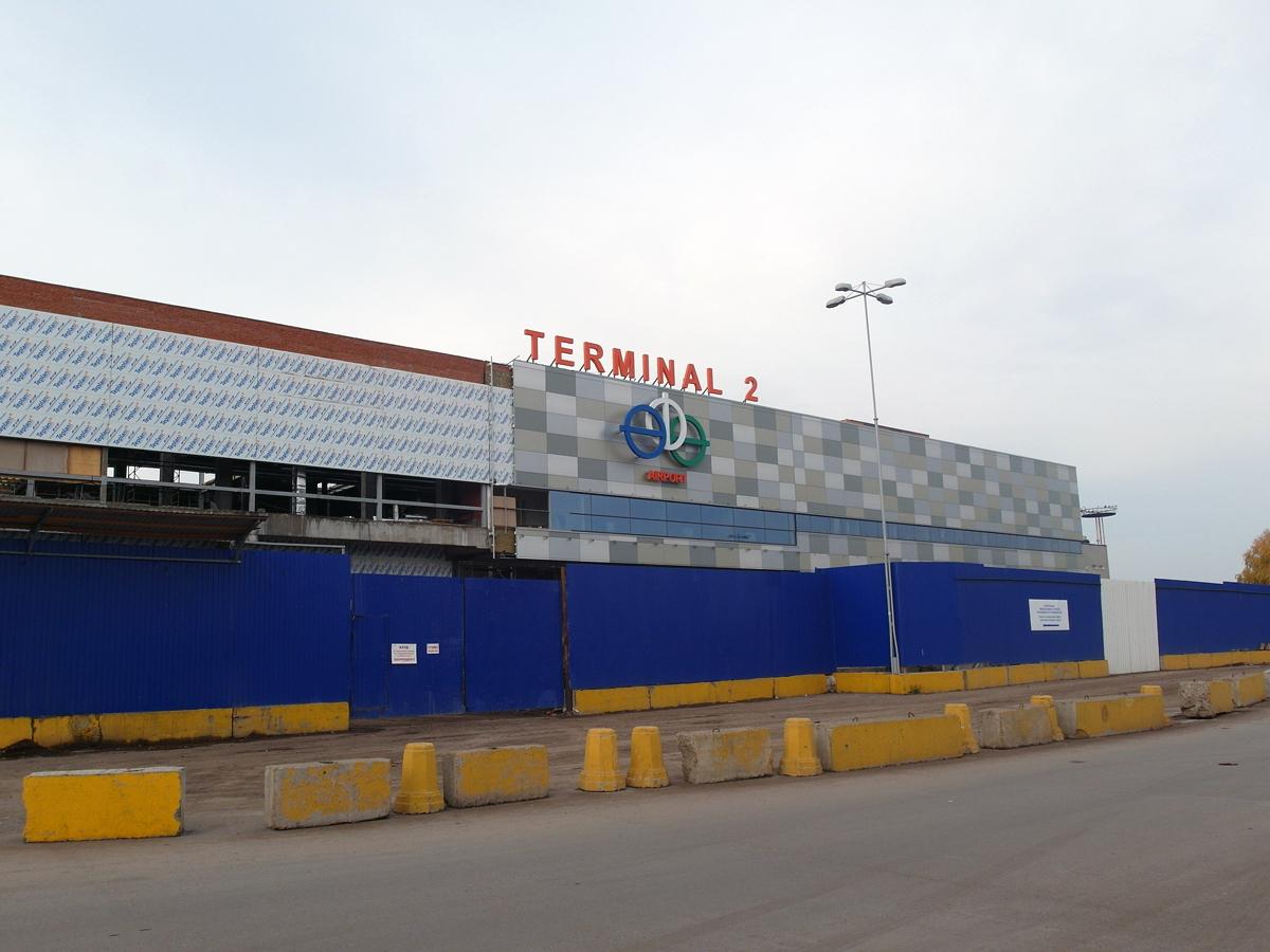 Строительство нового терминала 2 в аэропорту Уфа