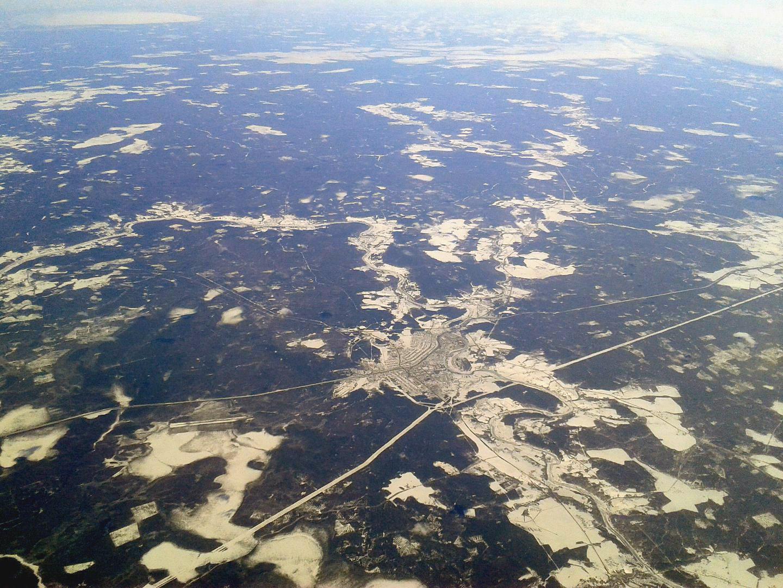 Город Удачный и аэропорт Полярный в Якутии