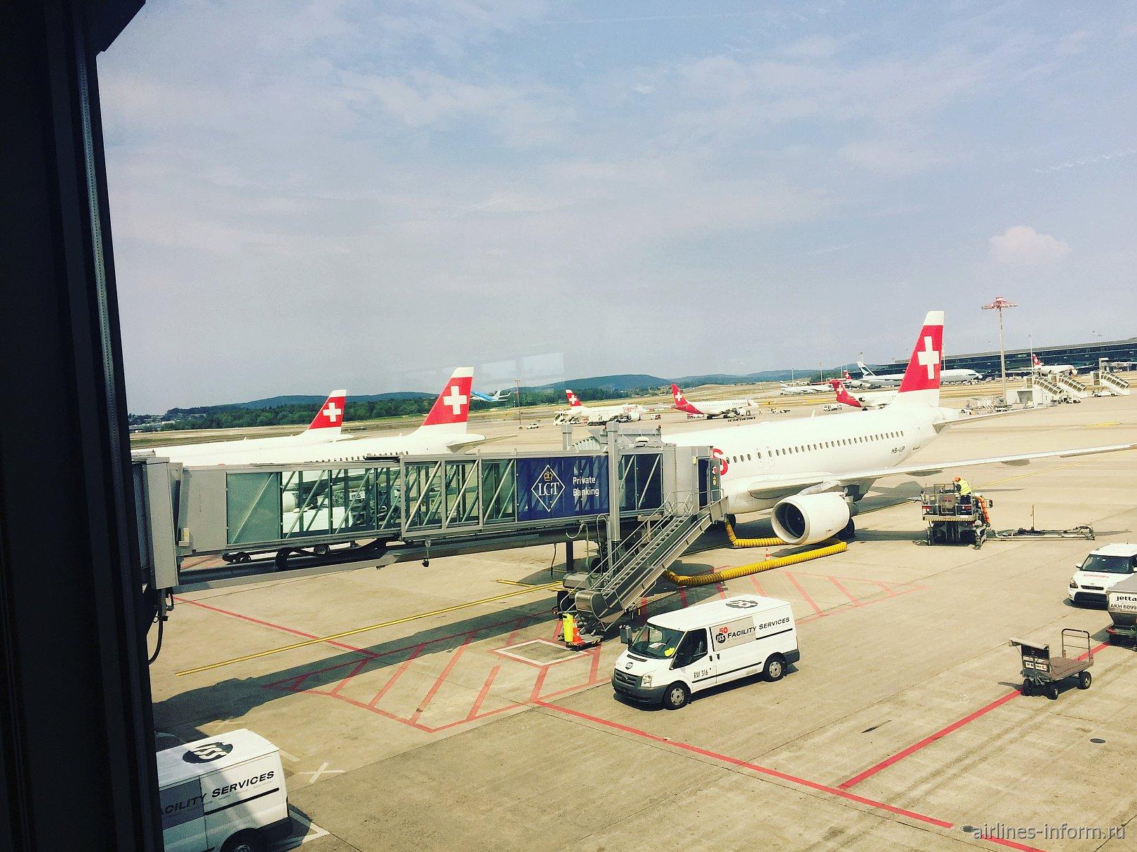 «Из немецко-итальянских записок..». Часть 4: Цюрих - Гамбург со Swiss: рай для споттеров и долгожданное прибытие