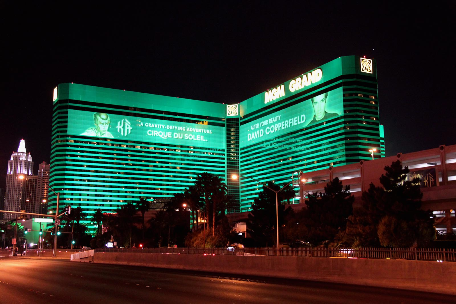 MGM Grand hotel in Las Vegas