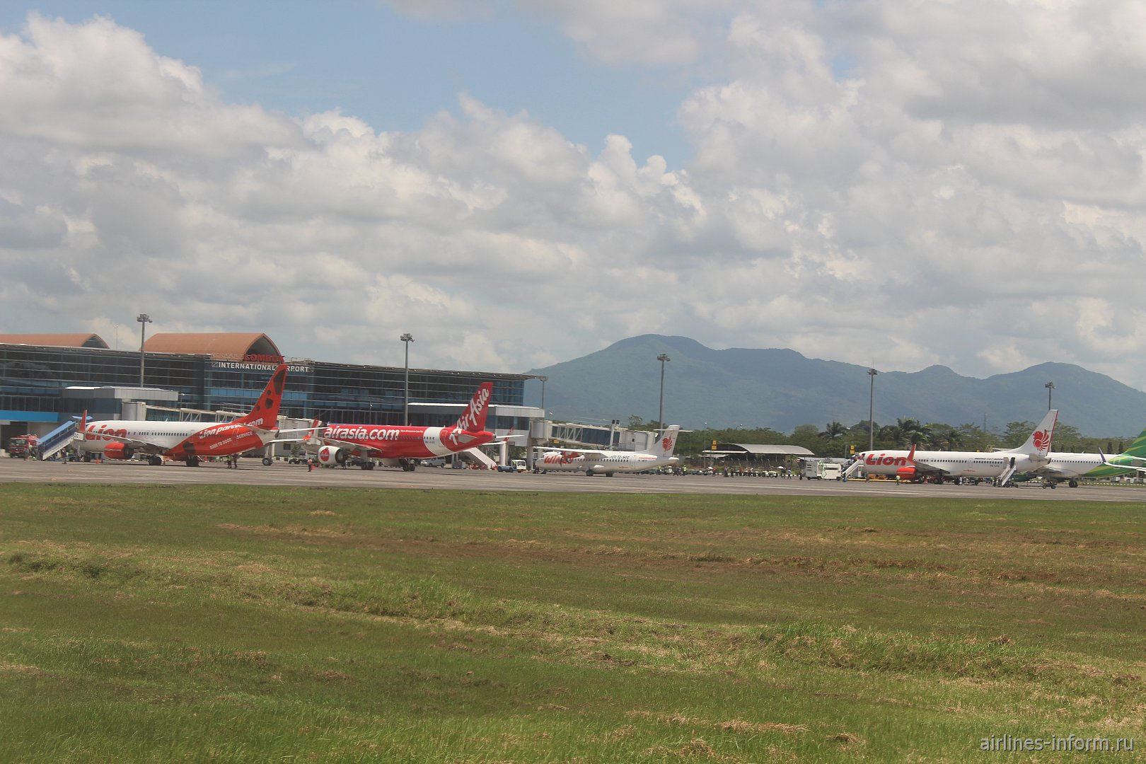 Перрон аэропорта Ломбок