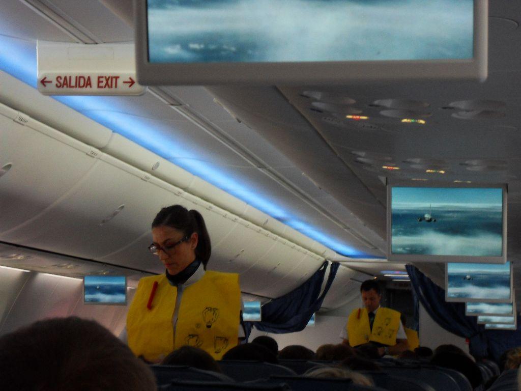 Бортпроводники авиакомпании Air Europa