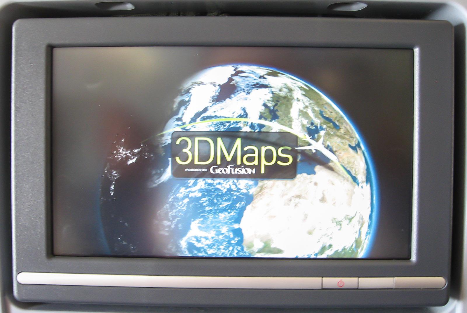 Система развлечений самолета Боинг-777-300 Аэрофлота