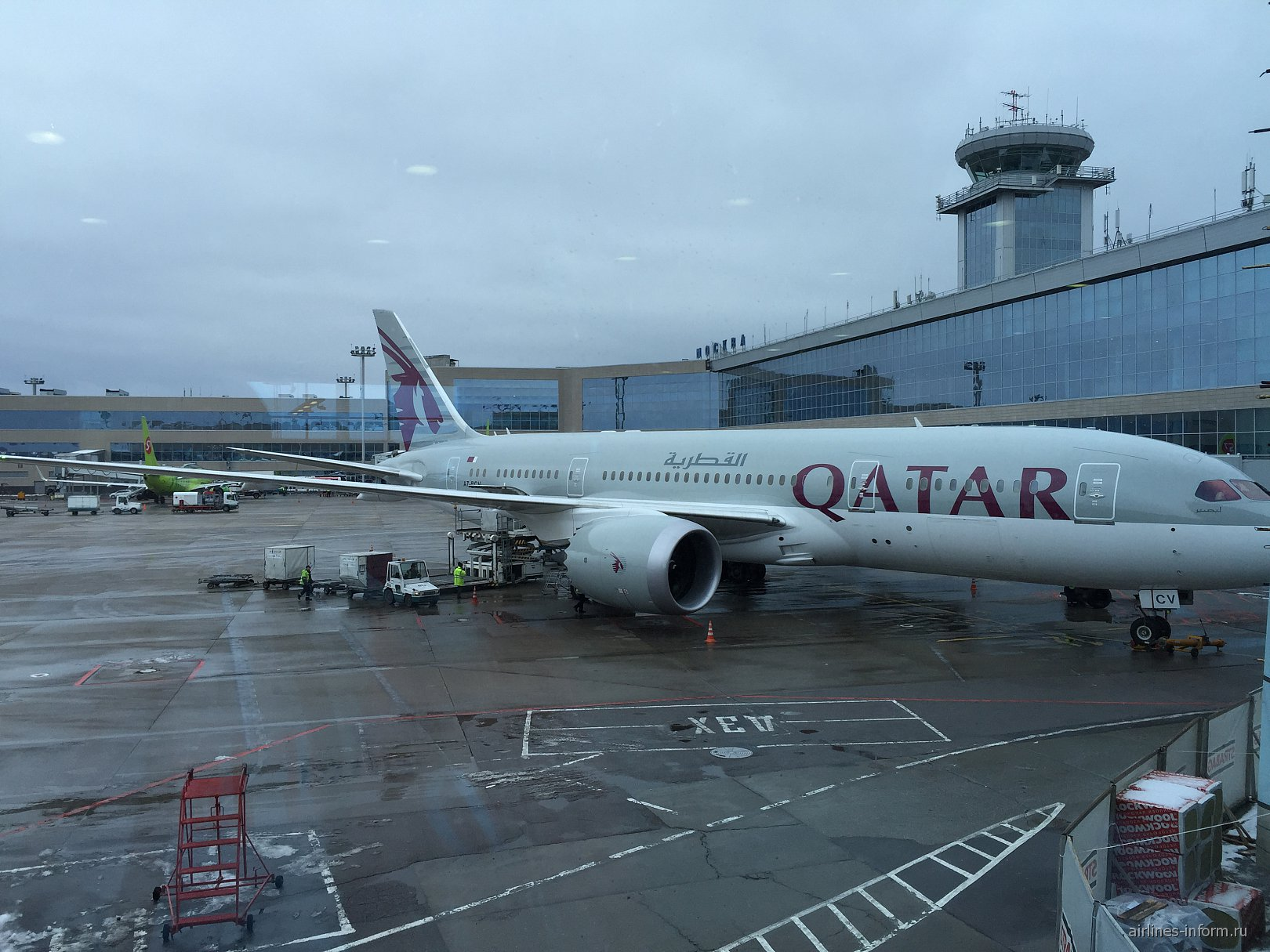 Москва-Мале c Qatar airways на лайнере мечты