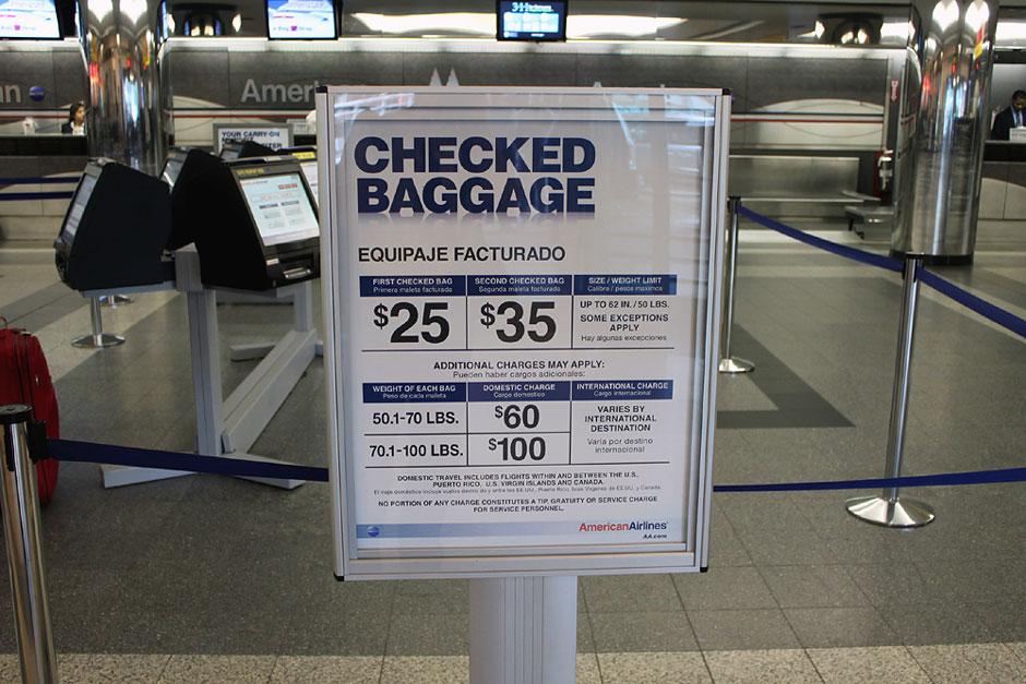 Правила перевозки багажа American Airlines