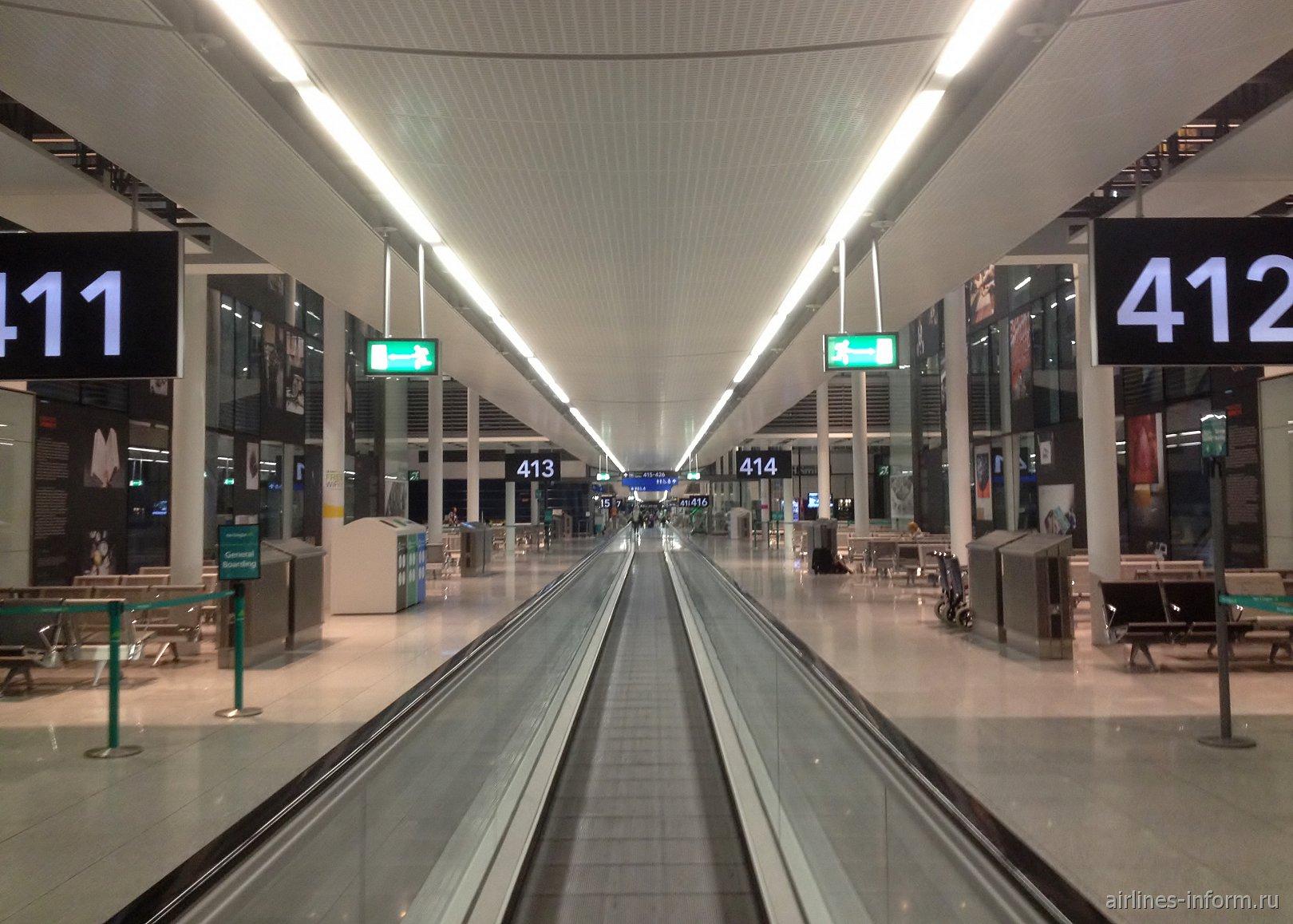 Южная посадочная галерея в терминале 2 аэропорта Дублин