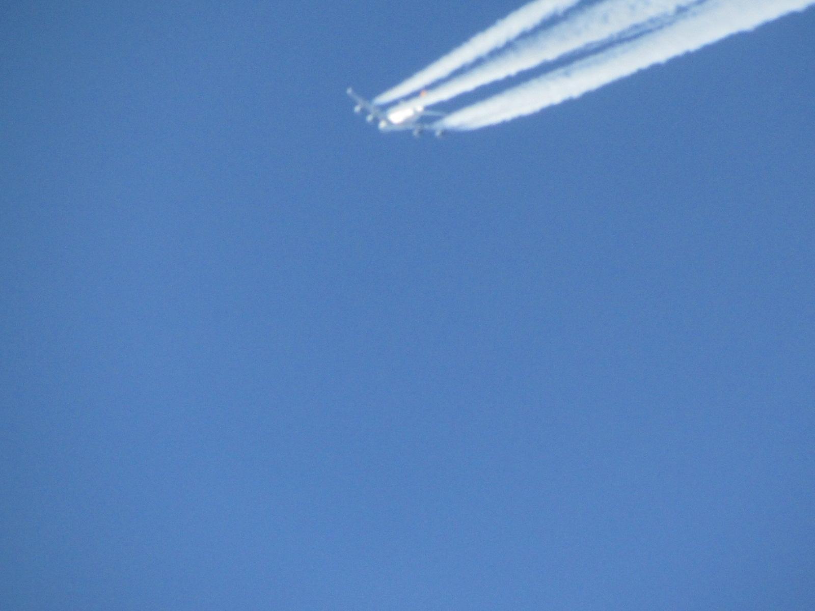 В полете Airbus A380 авиакомпании Lufthansa