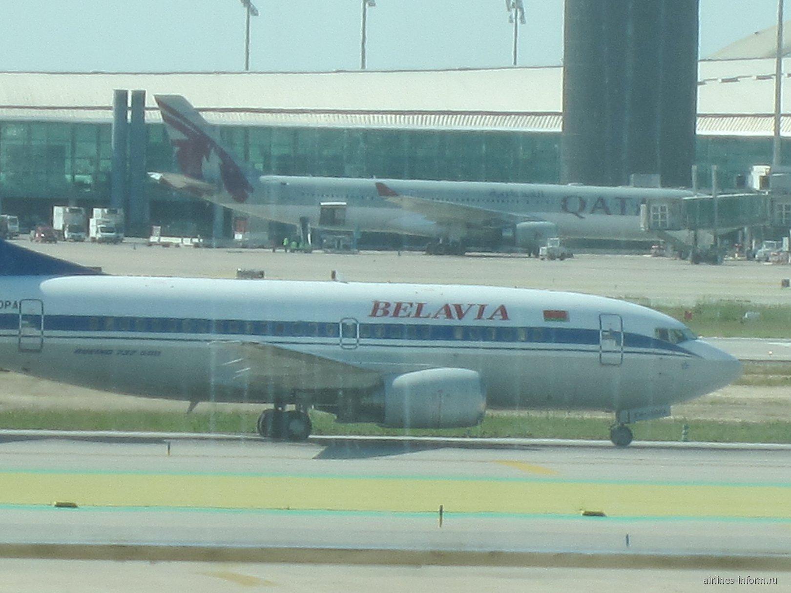В аэропорту Эль-Прат Барселоны