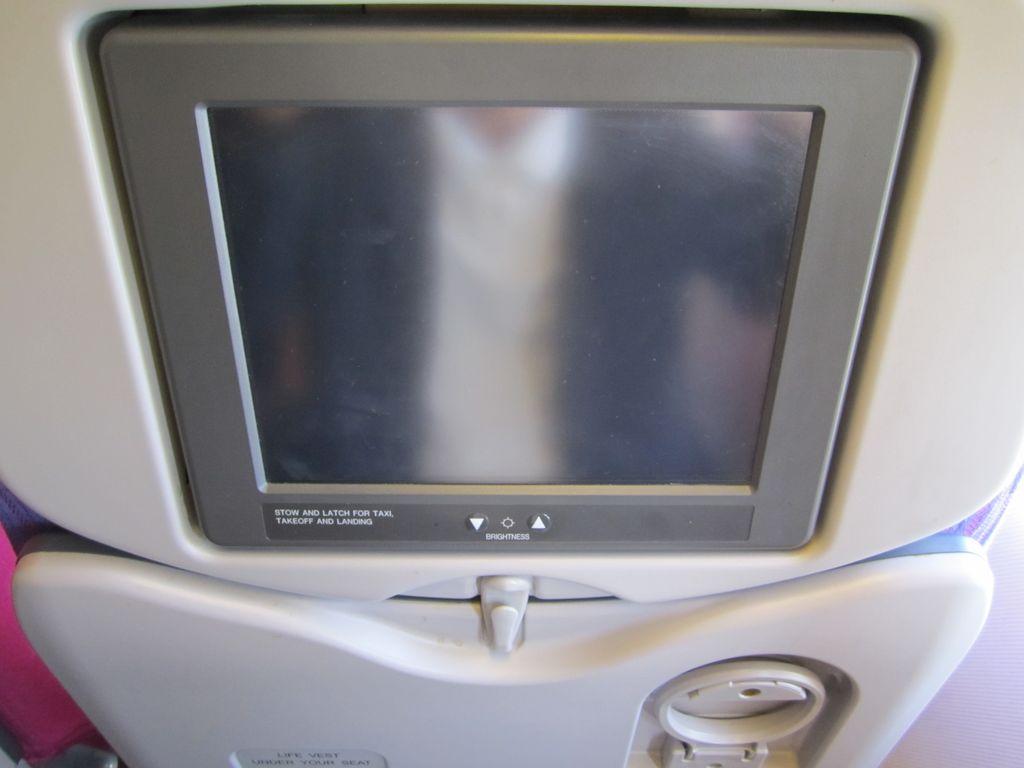 Система развлечений в самолете Боинг-777-300 Тайских авиалиний