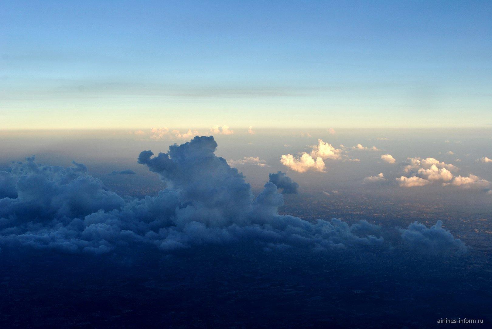 Облака над Бангкоком
