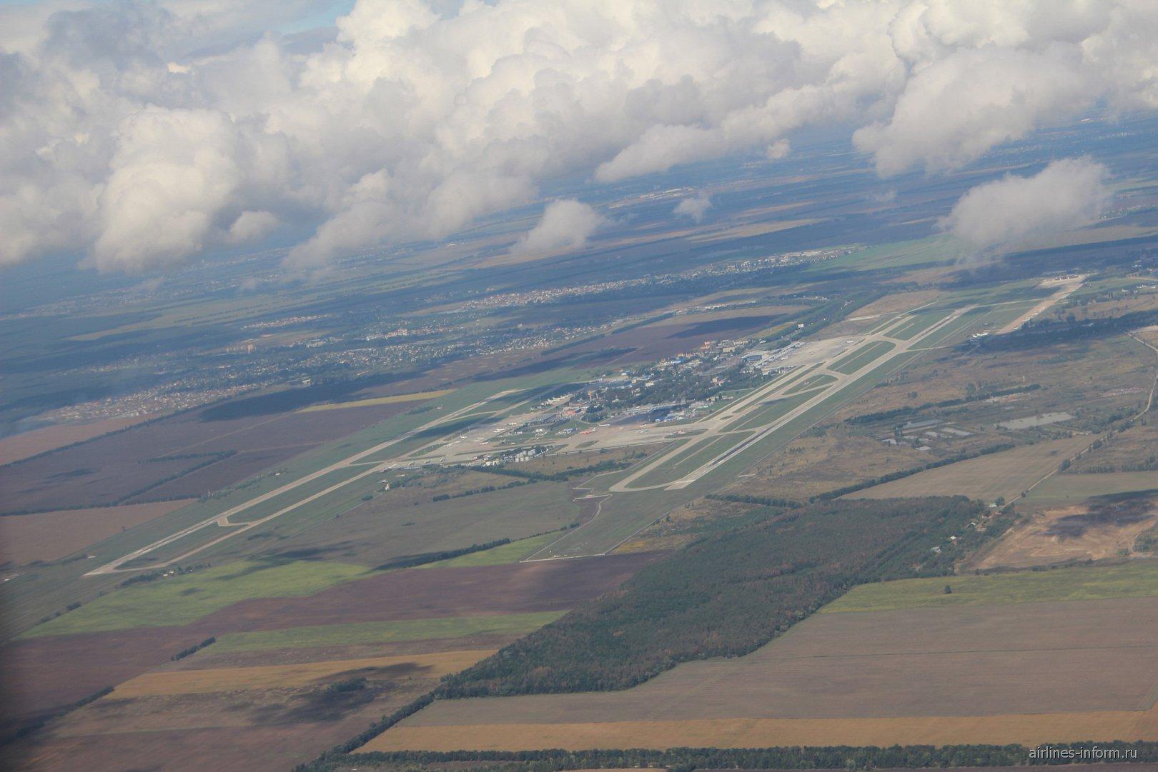 Вид на аэропорт Киев Борисполь