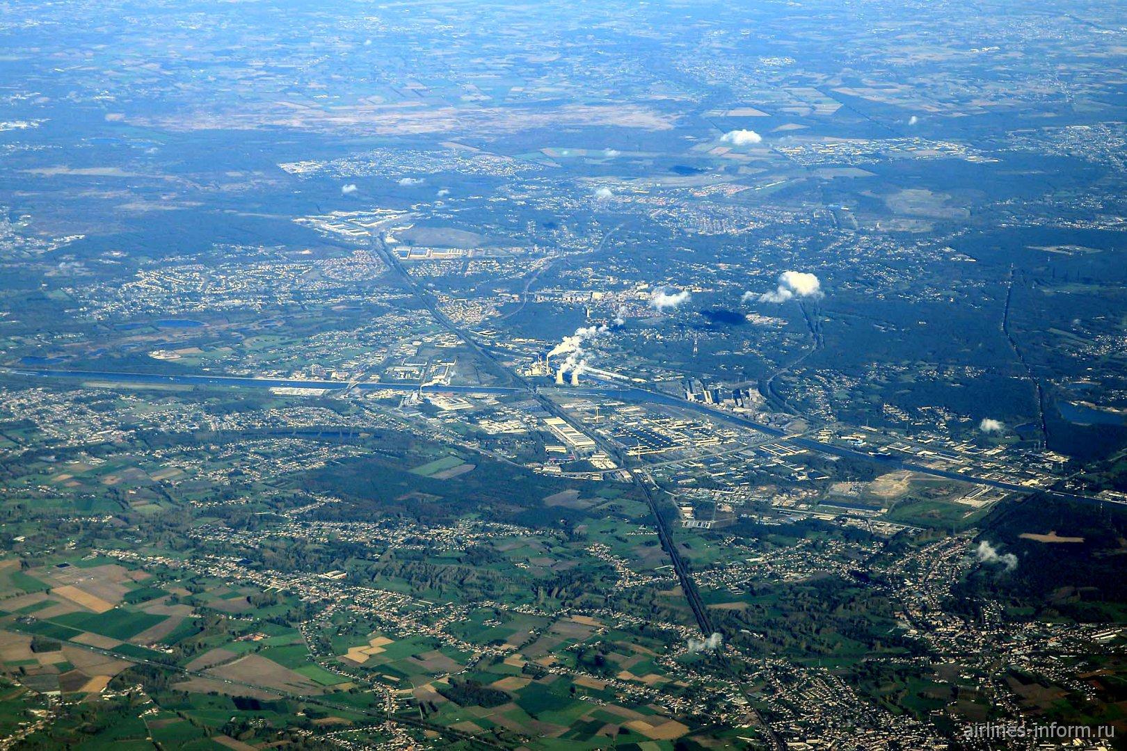 Южный промышленный район города Генк в Бельгии