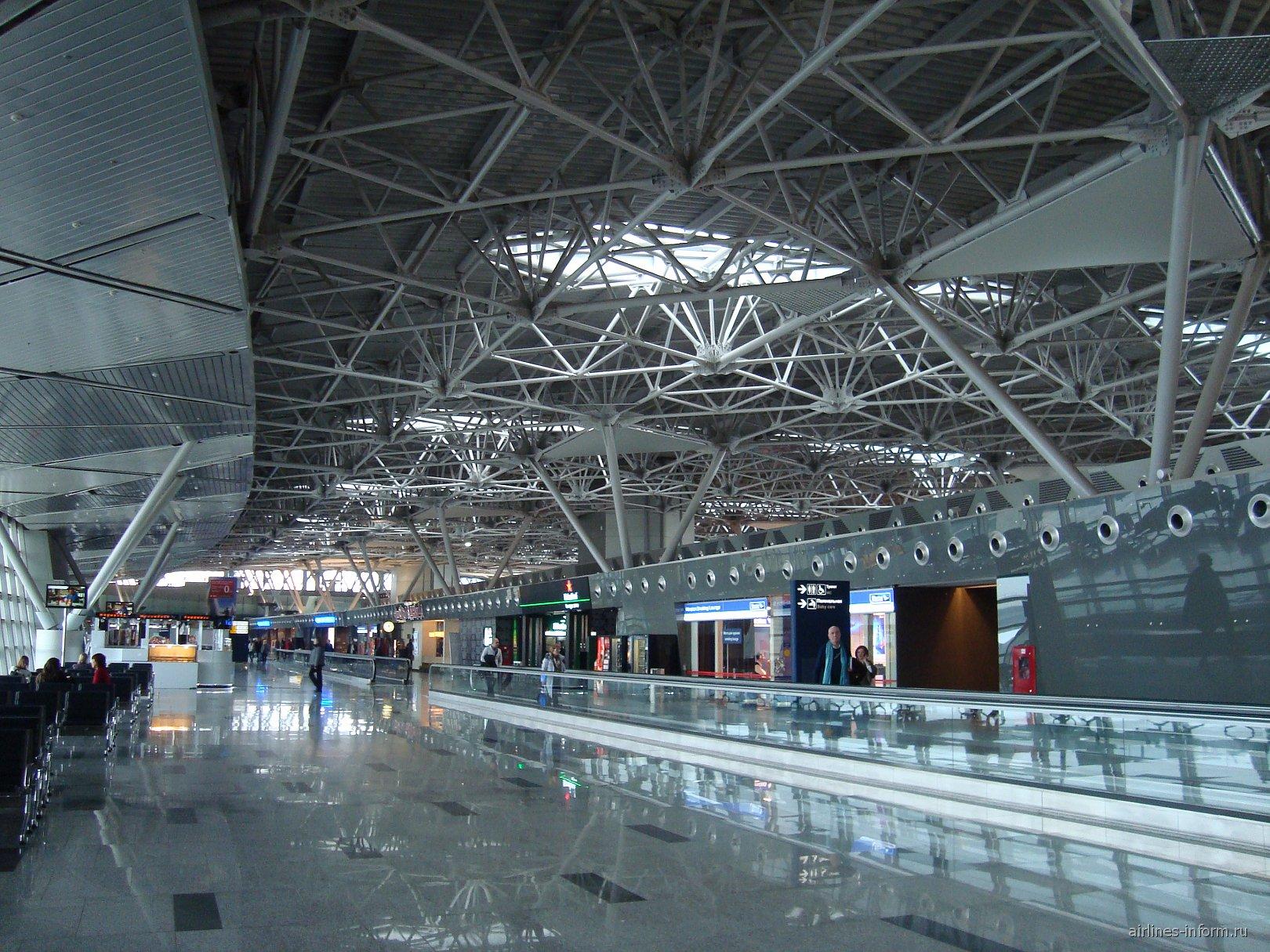 Стерильная зона в терминале А аэропорта Внуково