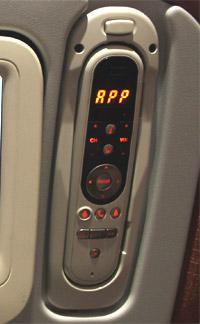 Пульт системы развлечений самолета Airbus A330