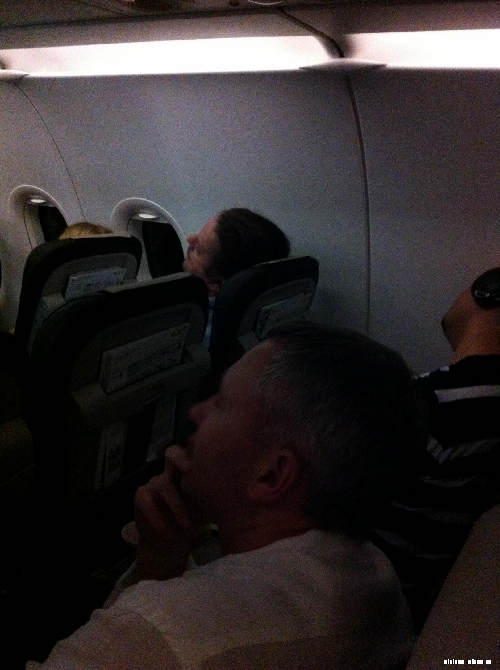 Салон самолета