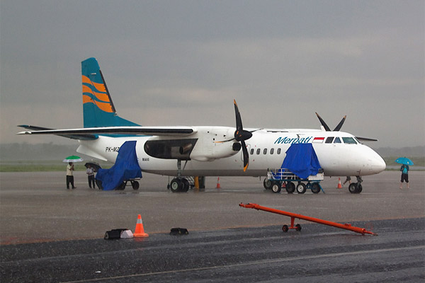 Indonesia. A trip from Flores to Lombok with regional airline Merpati Nusantara