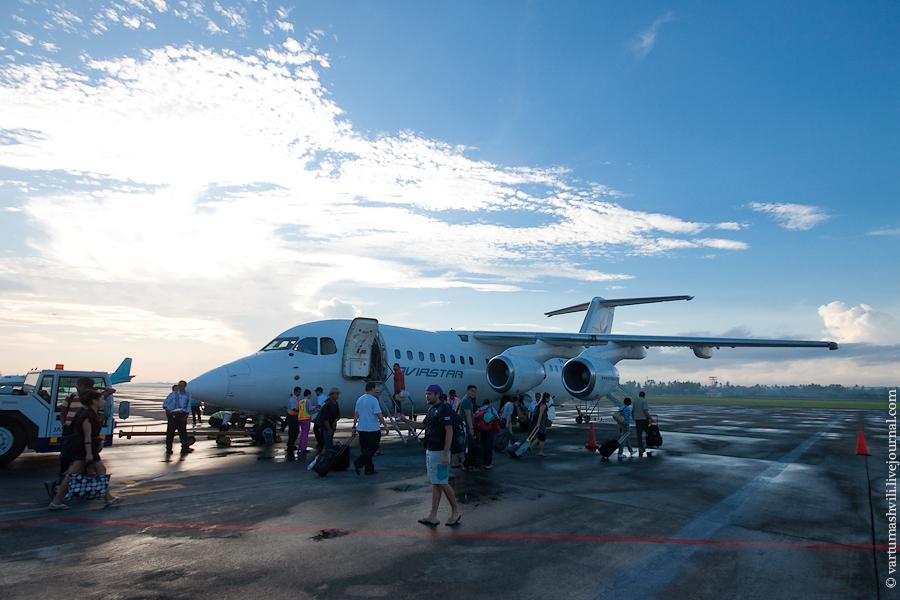 Самолет BAe 146 авиакомпании Авиастар Мандири