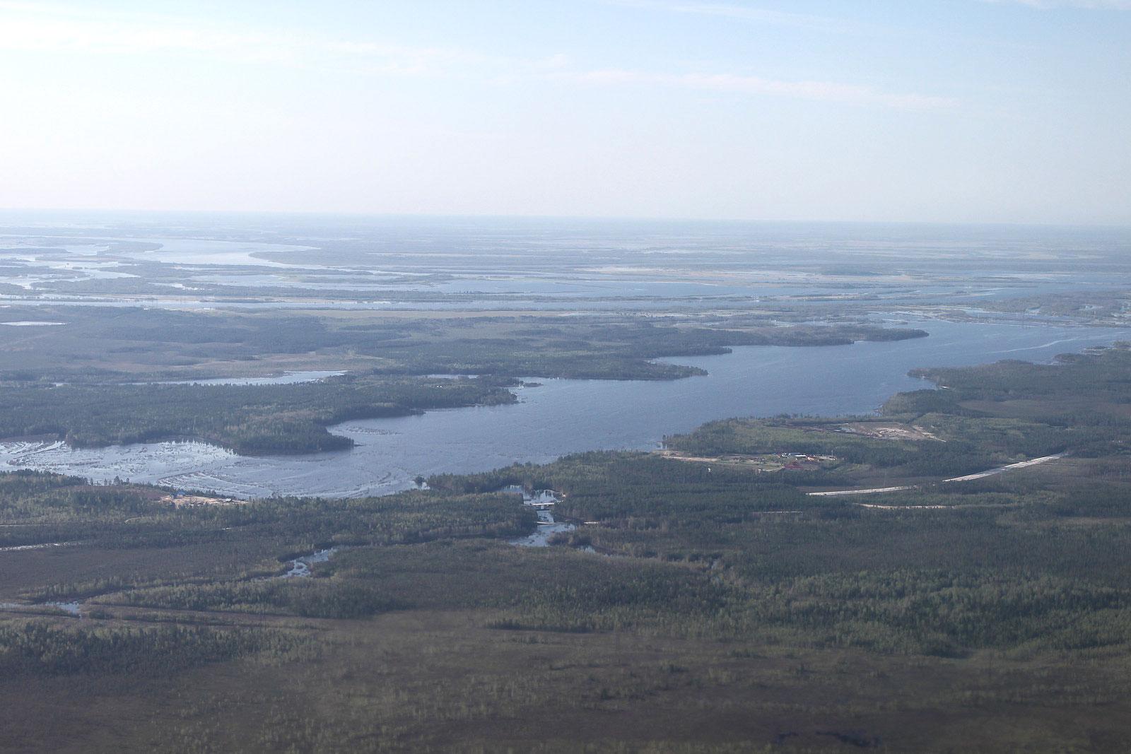 Река Обь рядом с Сургутом