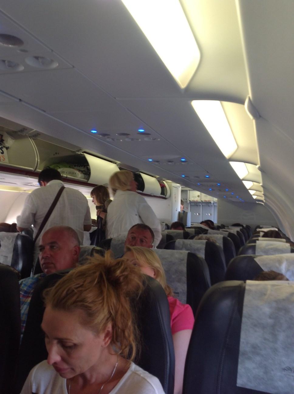 Самолет Airbus A320 Эгейских авиалиний
