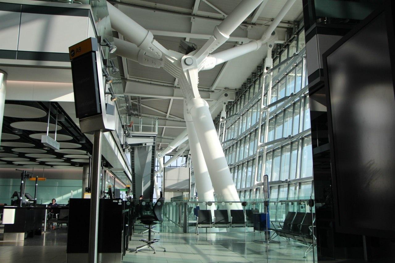 Терминал 5 аэропорта Лондон Хитроу