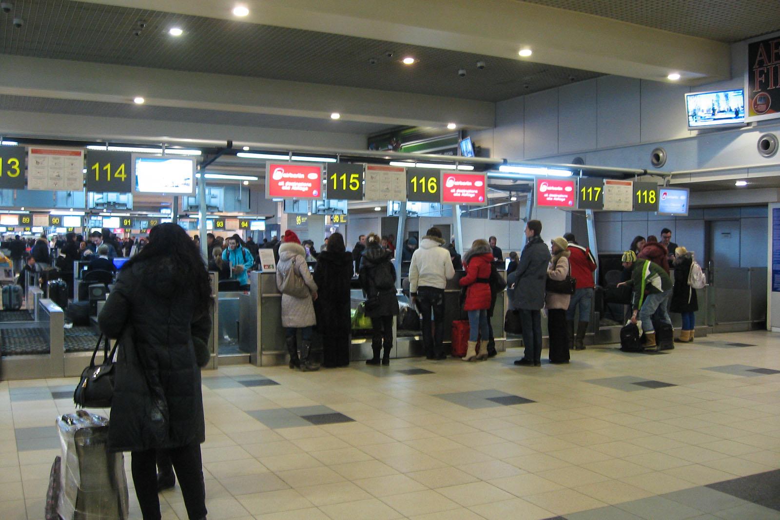 Регистрация на рейс авиакомпании Niki в аэропорту Домодедово