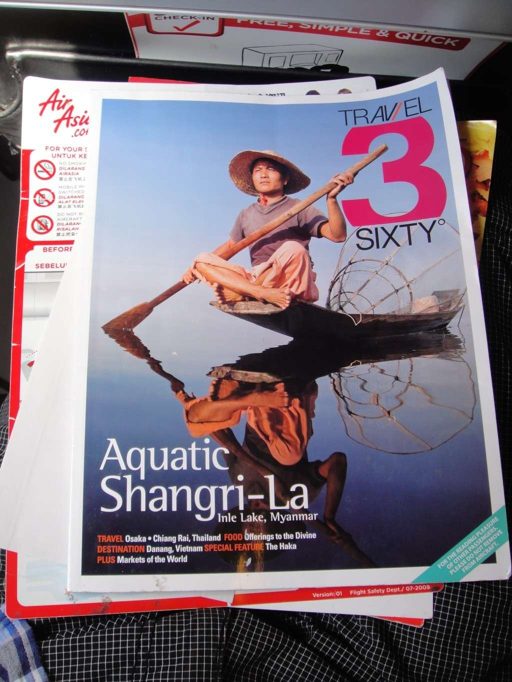 Flight magazine of AirAsia