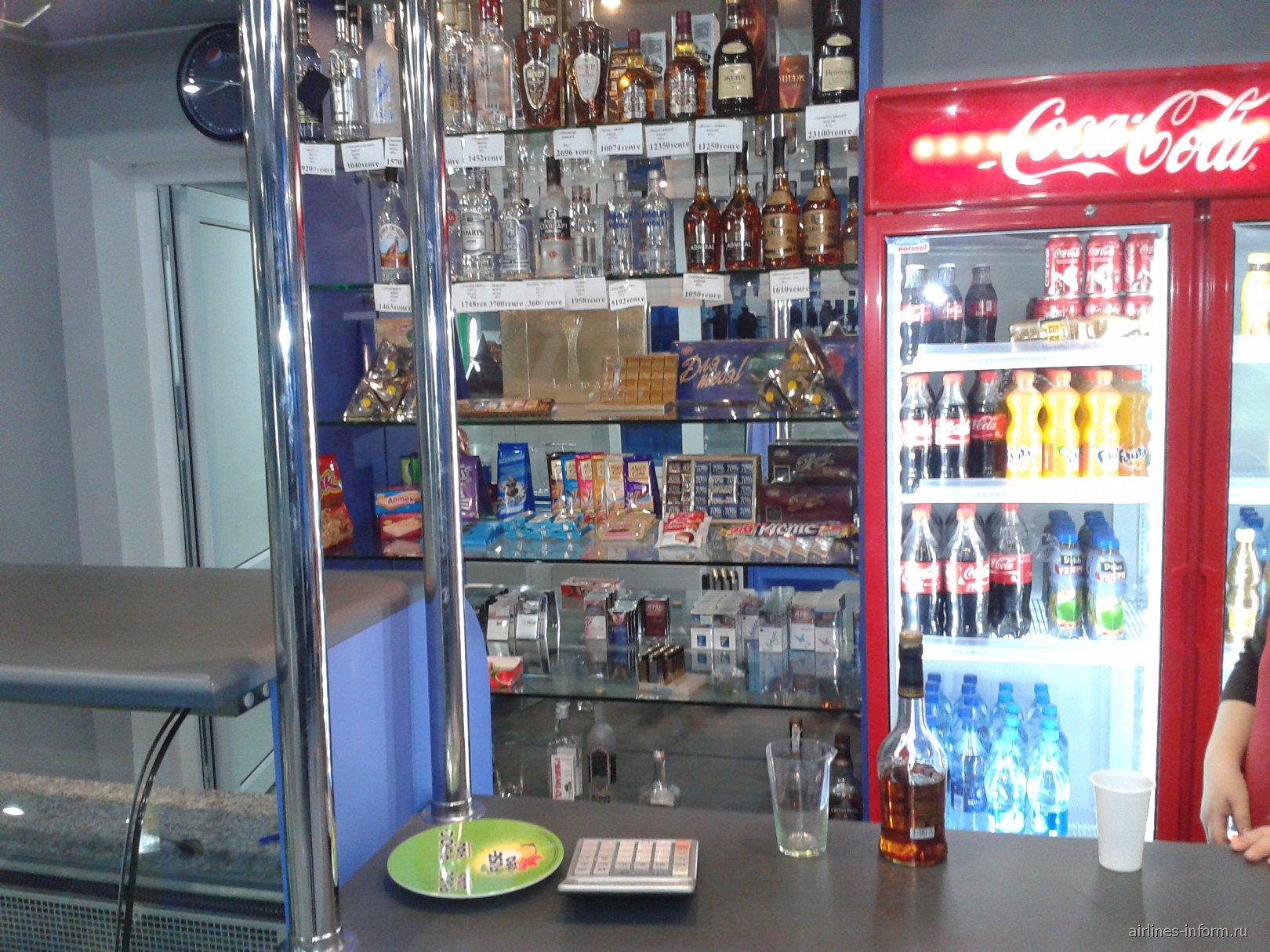 Буфет в аэропорту Павлодар