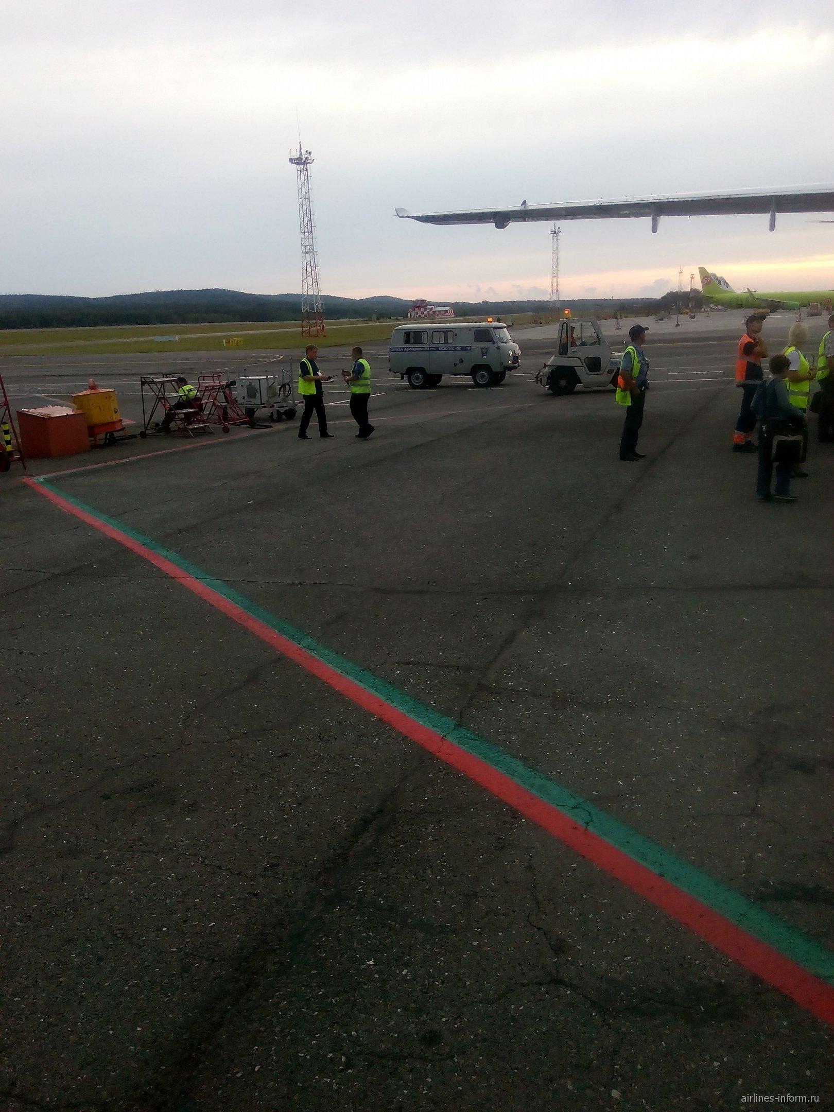 В аэропорту Красноярск Емельяново