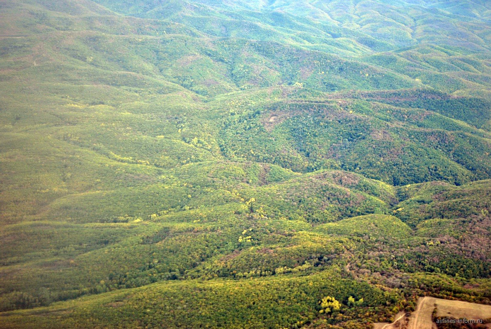 Зеленые Крымские горы