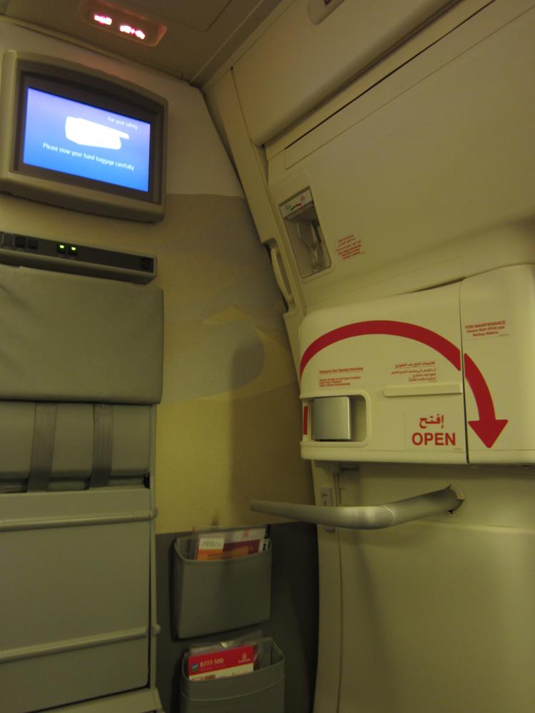 Внутри самолетаБоинг-777-300 авиакомпании Emirates