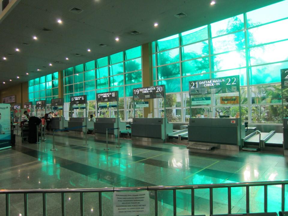 Стойки регистрации в аэропорту Лангкави