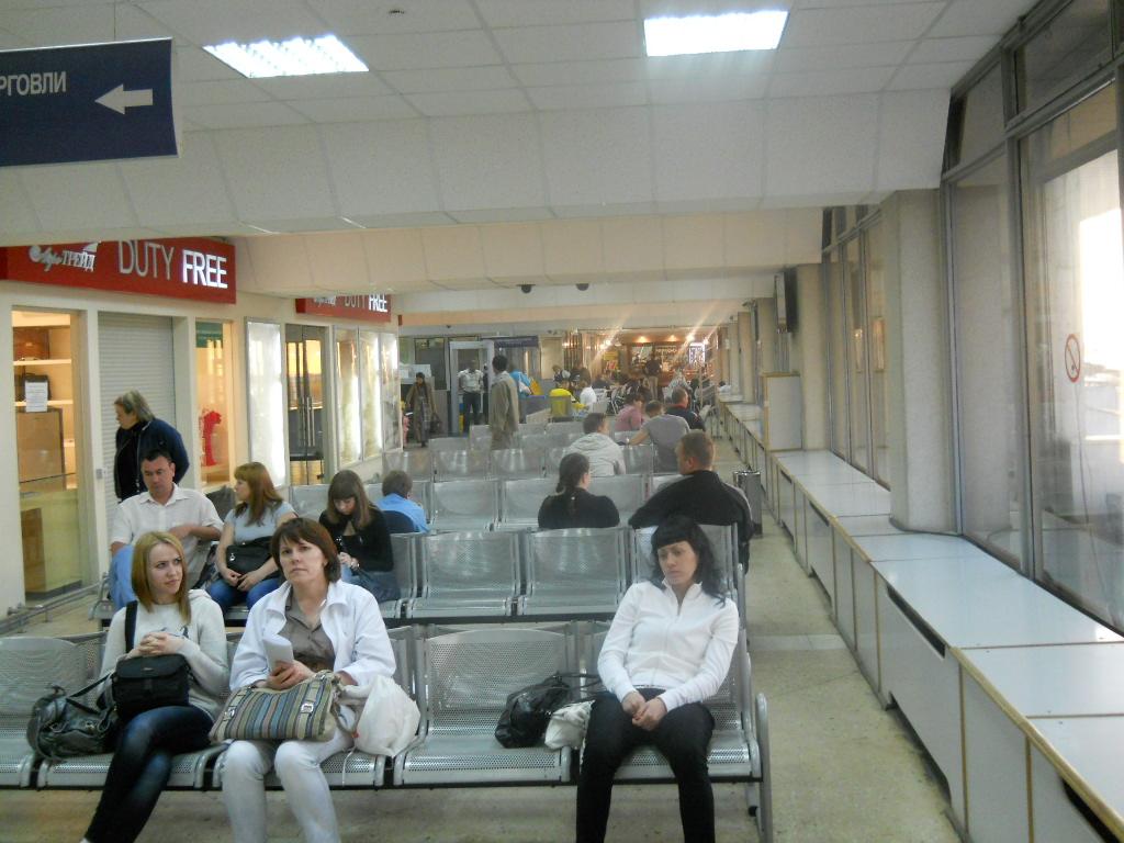 Аэропорт Самара Курумоч внутри