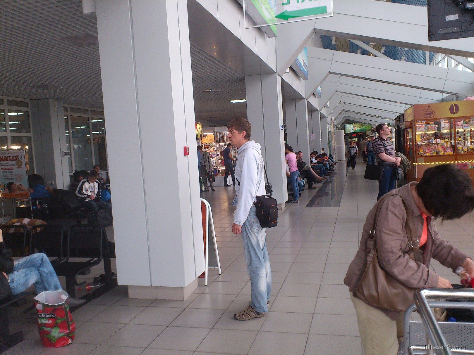 В аэропорту Иркутска