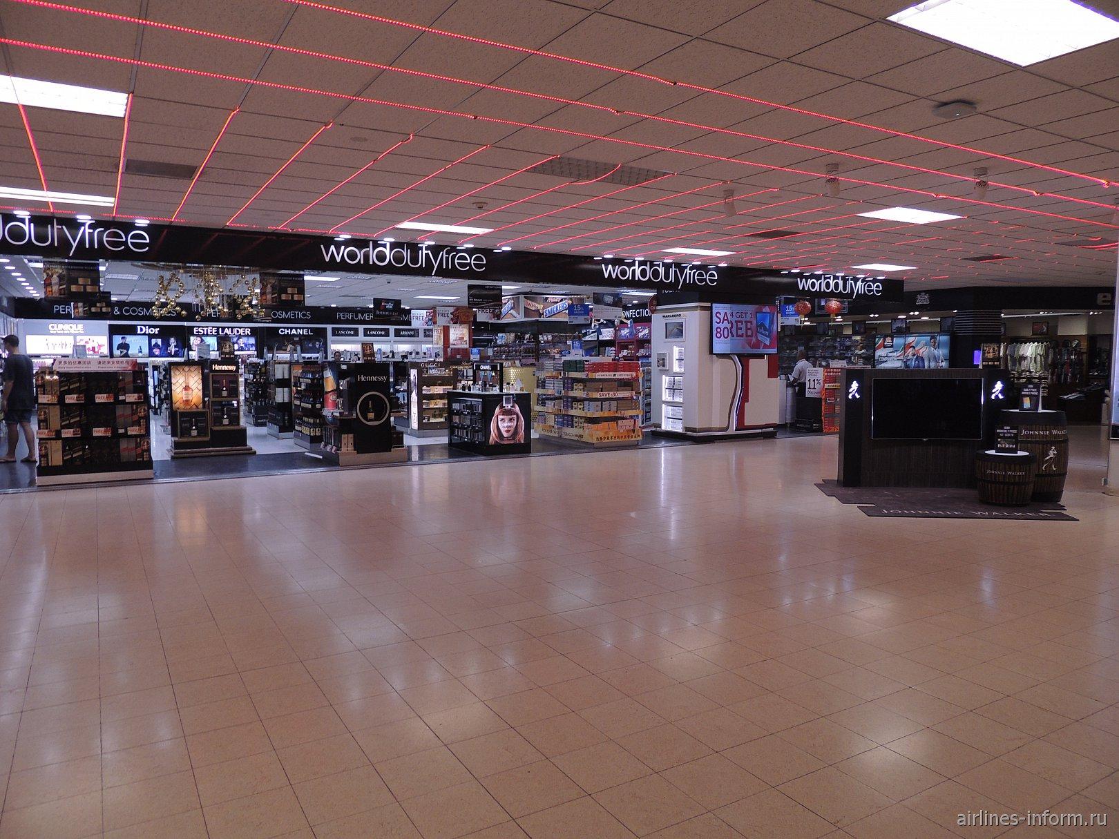 Магазин duty-free в аэропорту Коломбо Бандаранайке