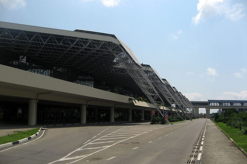Аэровокзал аэропорта Сочи