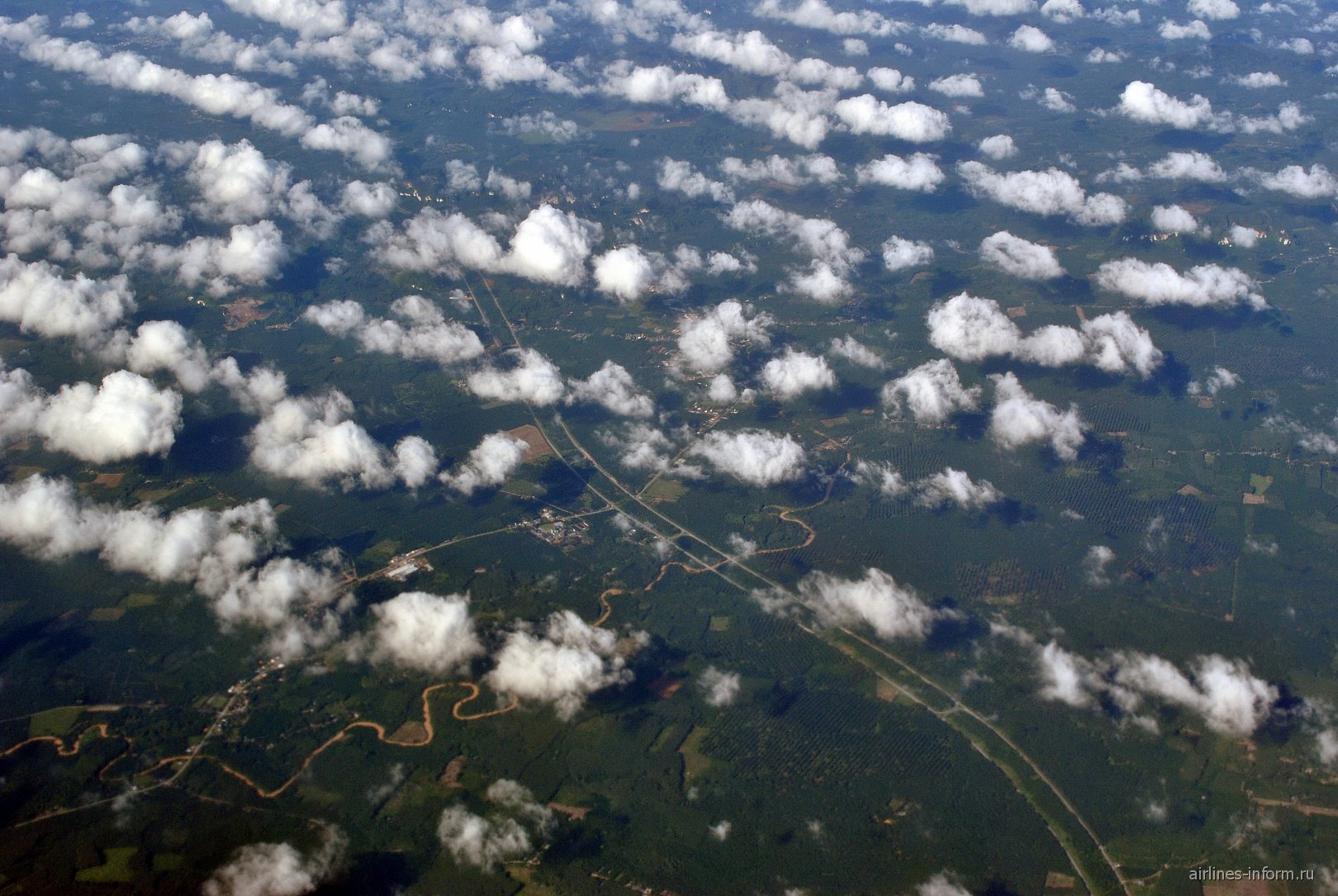 Маленькие облака над Таиландом