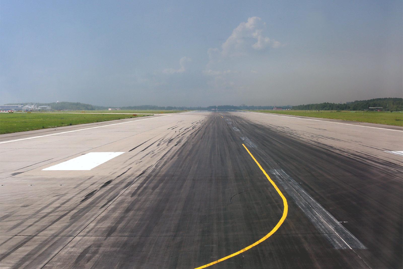Взлетно-посадочная полоса аэропорта Пулково