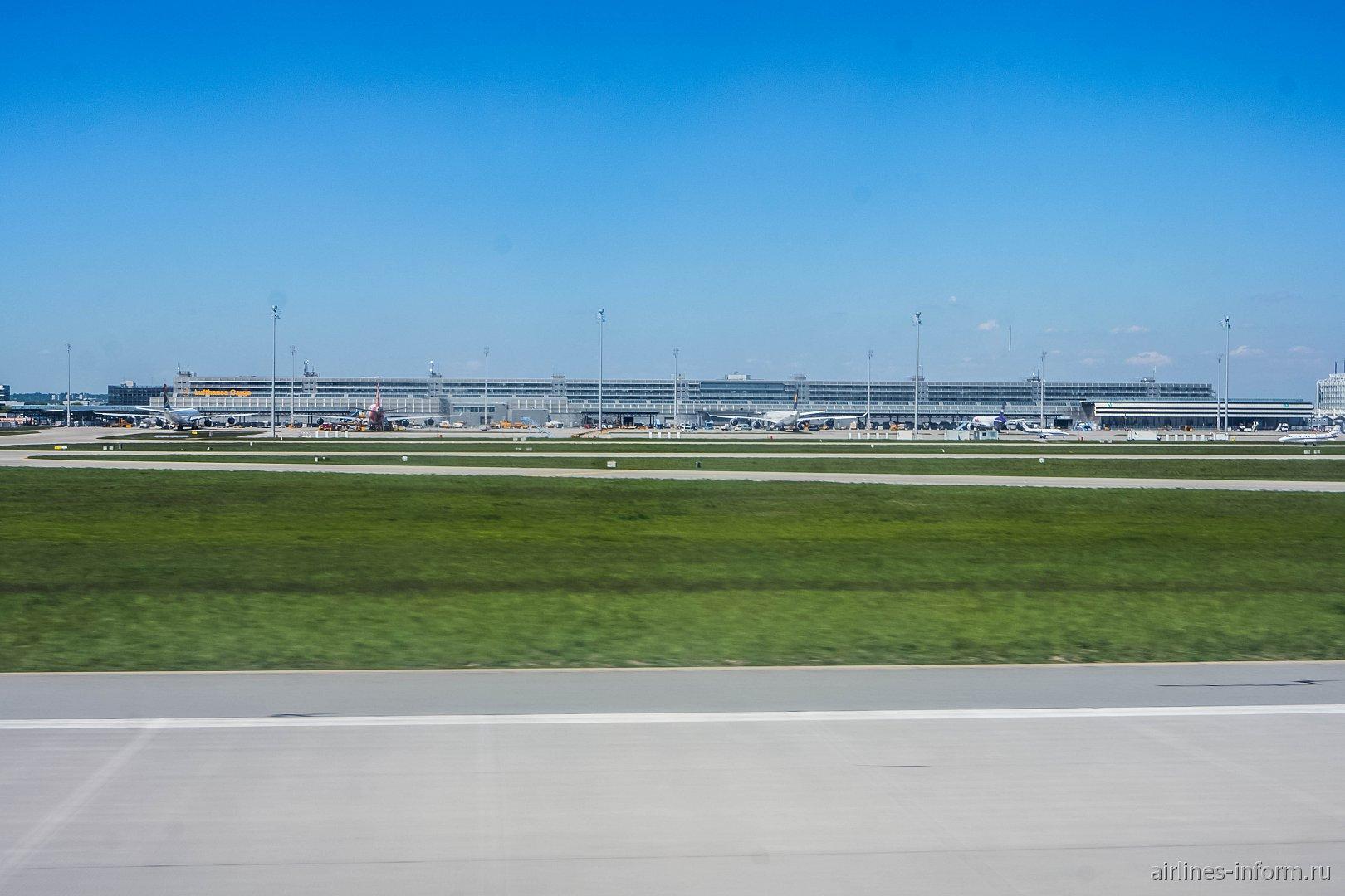 Грузовой терминал аэропорта Мюнхен