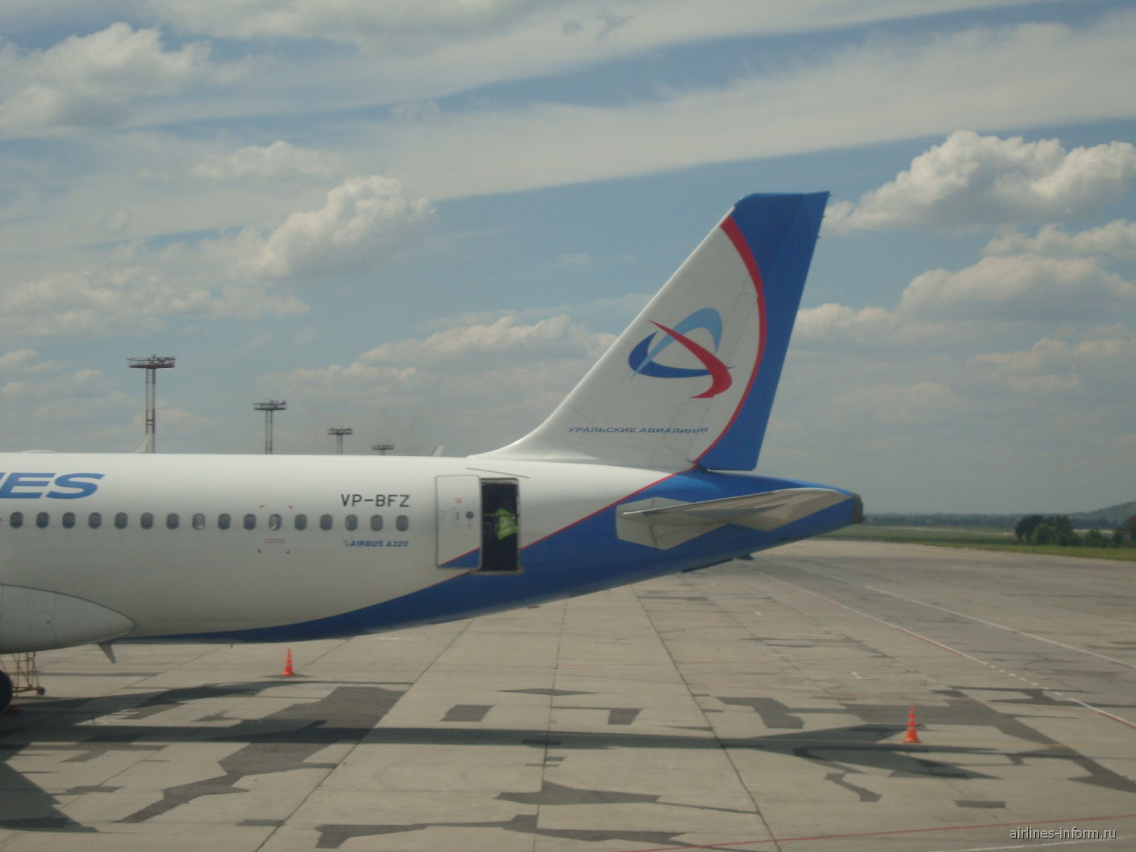 Эрбас А320 Уральских авиалиний