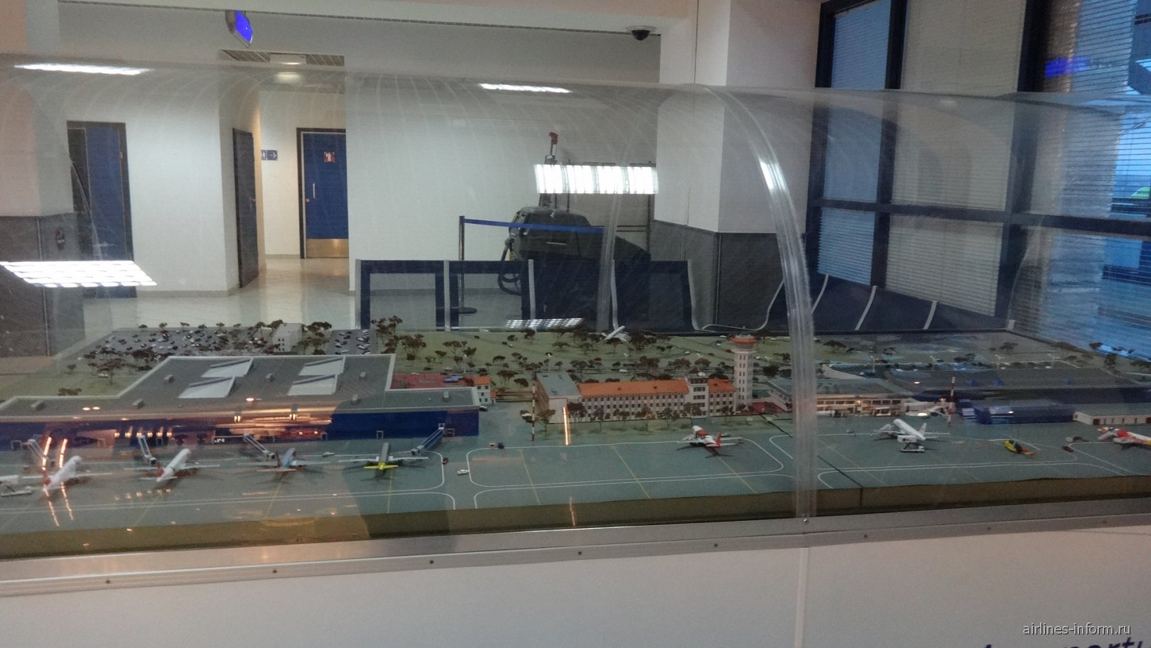 Макет аэропорта Кишинев