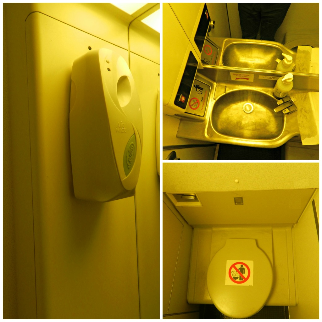 Туалет Боинга-757-200 авиакомпании СКАТ