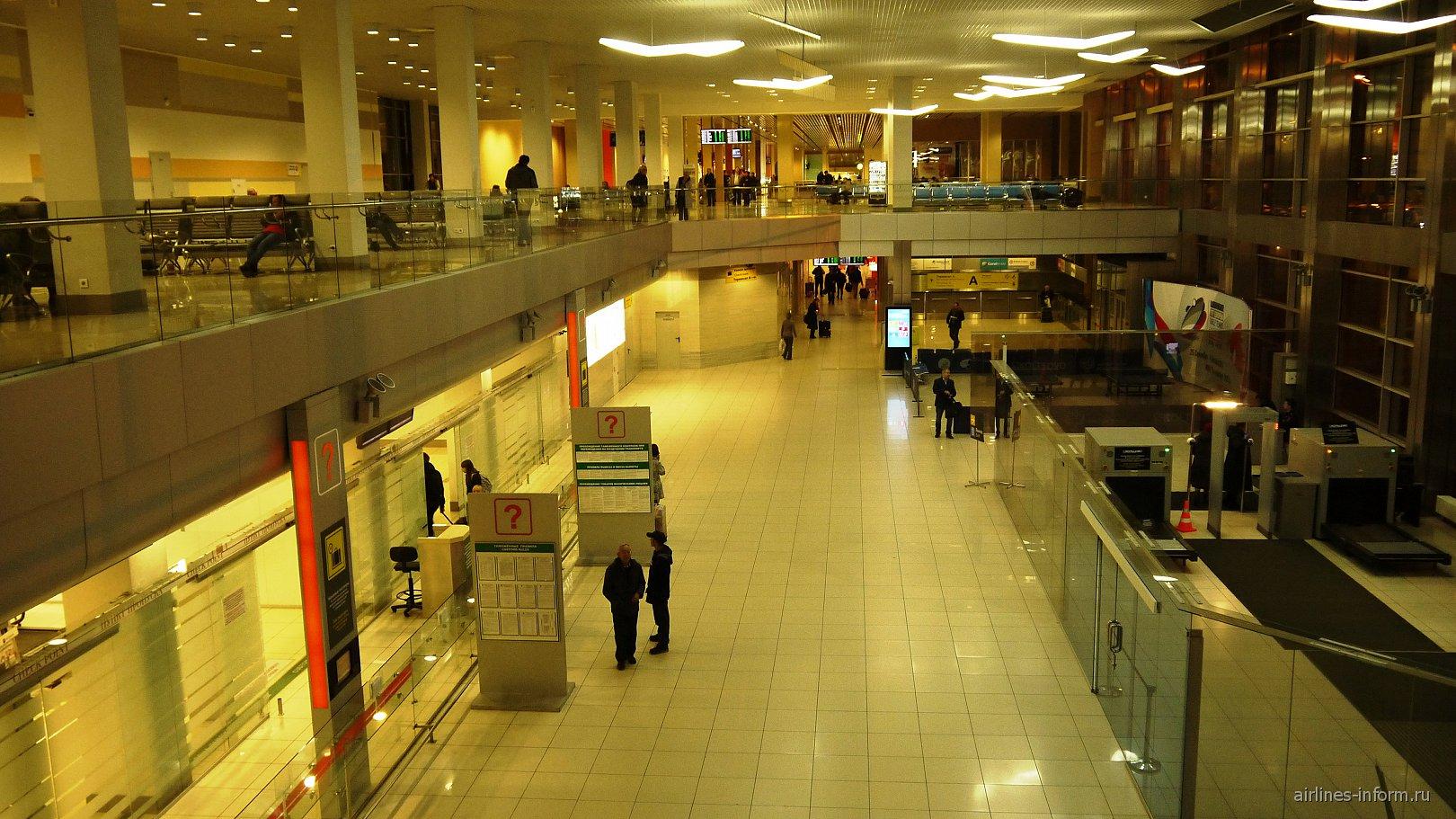 Международный сектор аэропорта Екатеринбург Кольцово