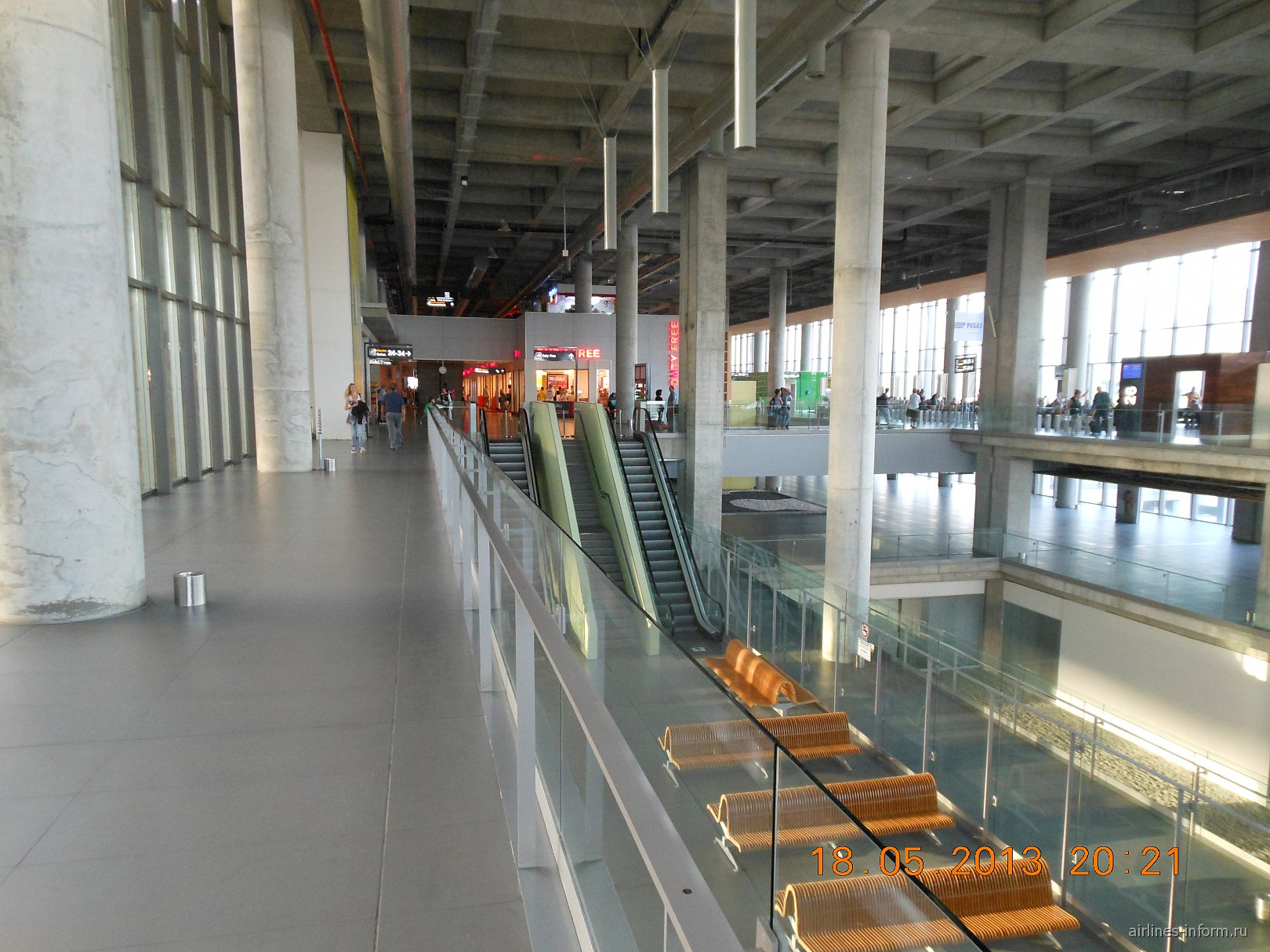 В аэровокзале аэропорта Даламан