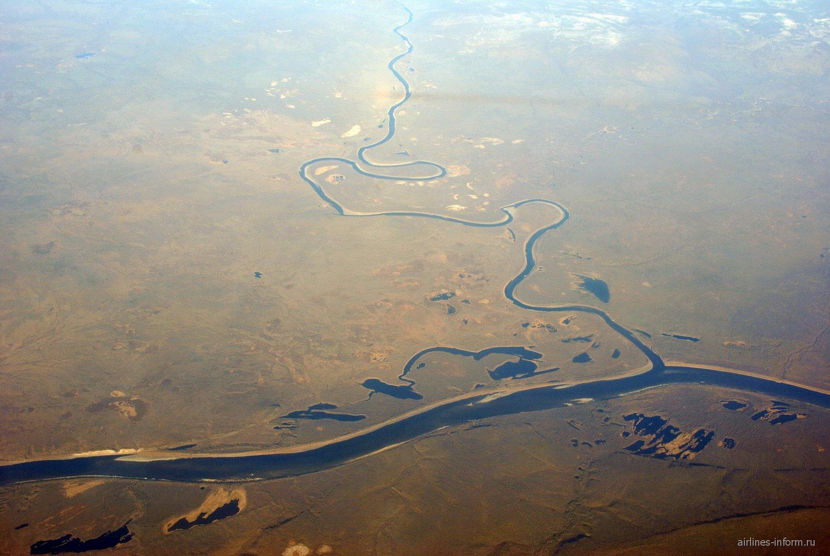 Реки в Восточной Сибири